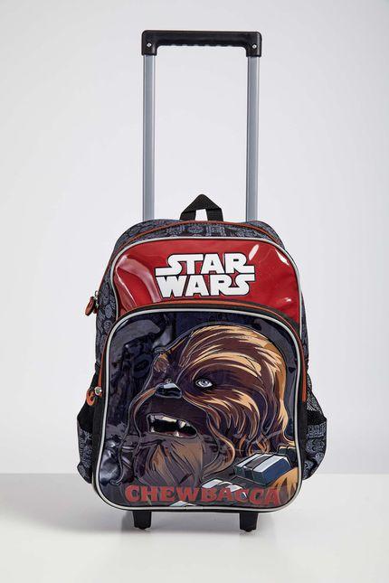 Mochila-Escolar-Infantil-Menino-Luxcel-Star-Wars-Chewbacca-Laranja