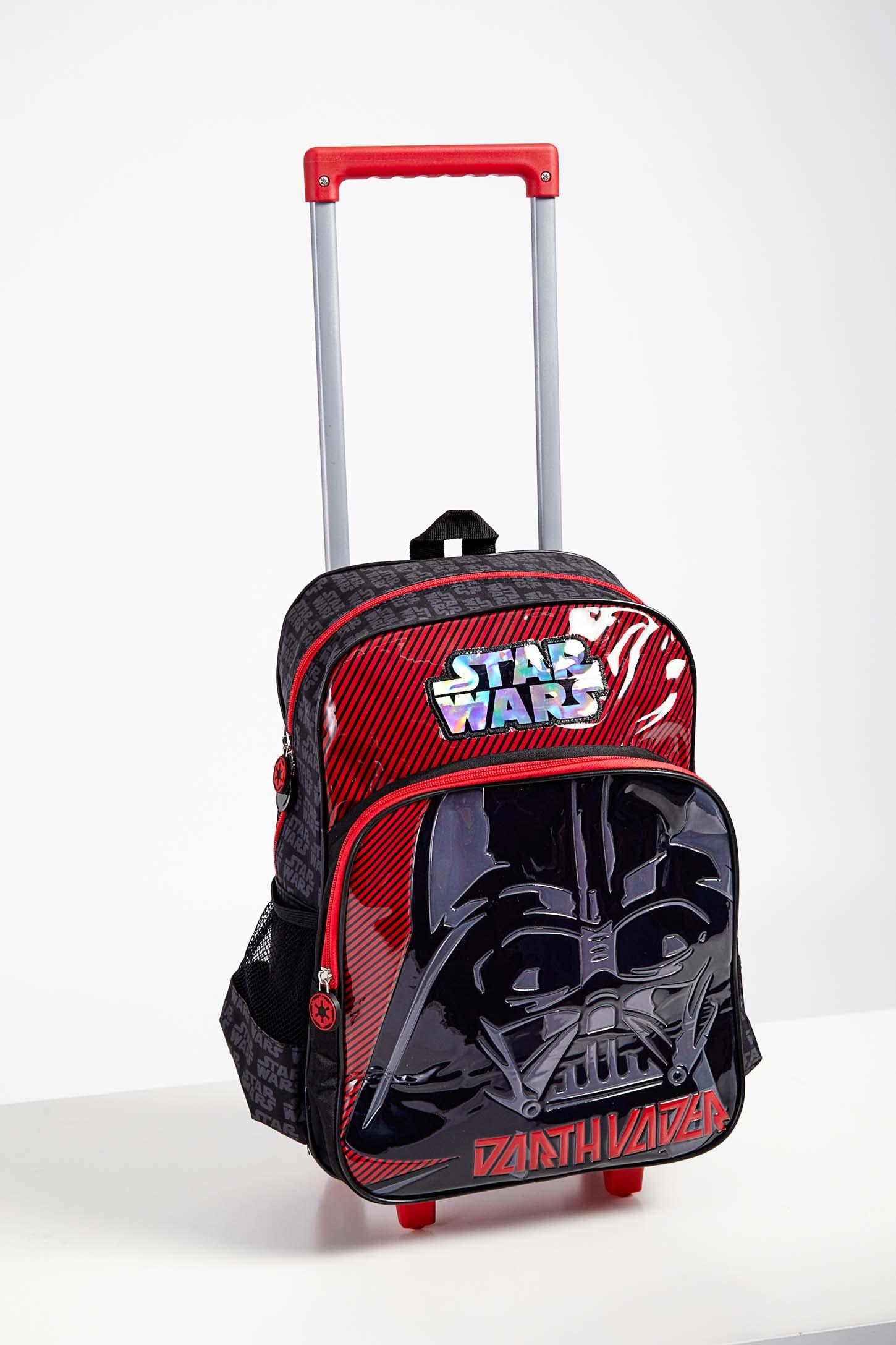 Mochila-Escolar-Infantil-Menino-Luxcel-Star-Wars-Vermelho