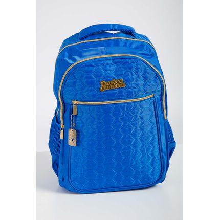 Mochila-Escolar-Juvenil-Feminina-Luxcel-Azul