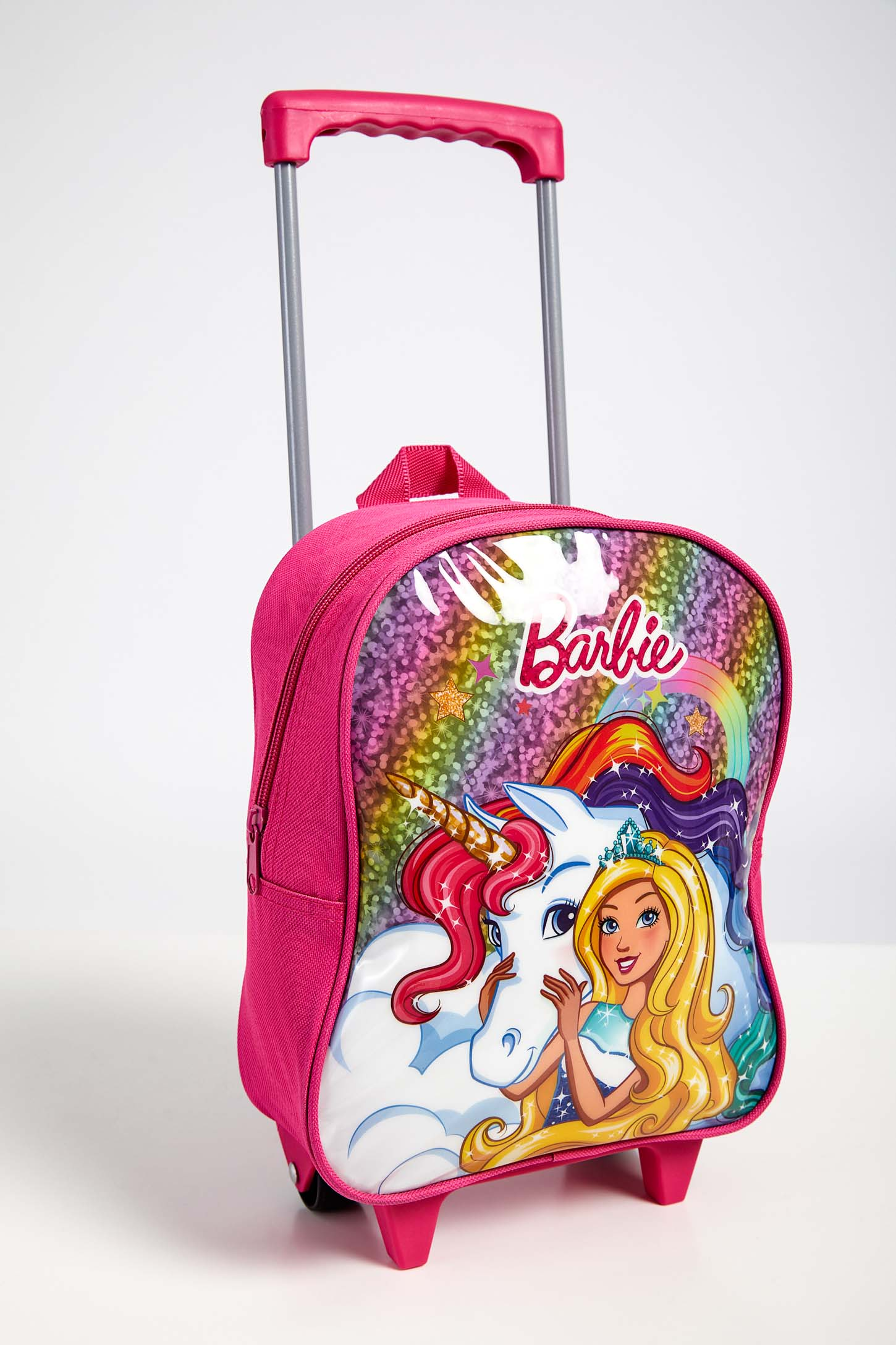 Mochila-Rodinhas-Menino-Luxcel-Barbie-Pink