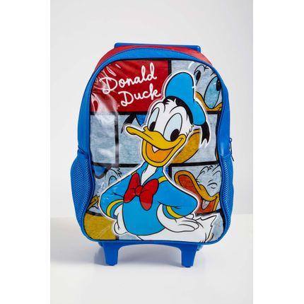 Mochila-Rodinhas-Menino-Luxcel-Pato-Donald-Azul