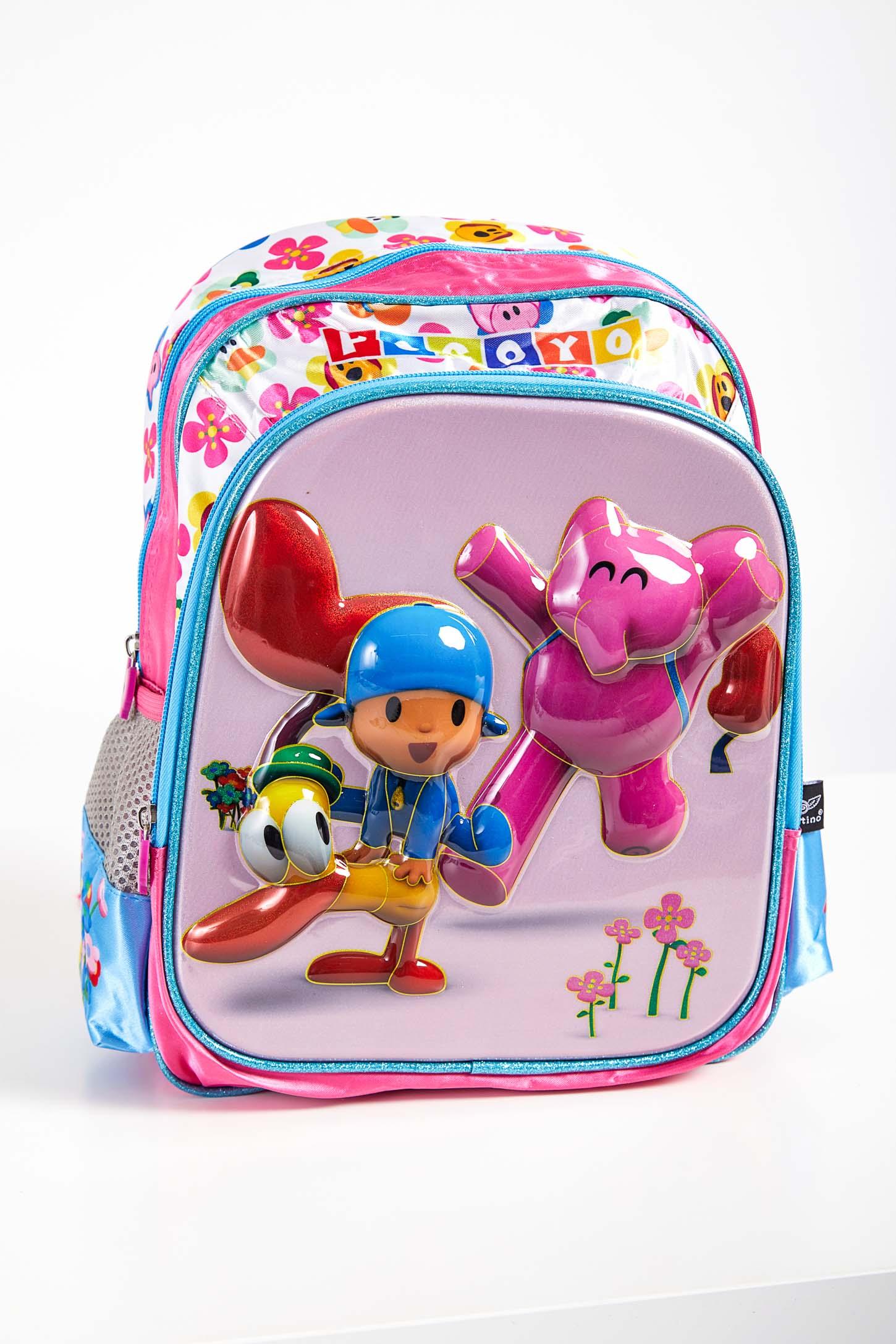 Mochila-Escolar-Infantil-Santino-Pocoyo-Pink