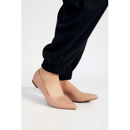 Sapato-Casual-Feminino-Moleca-Napa-Nude