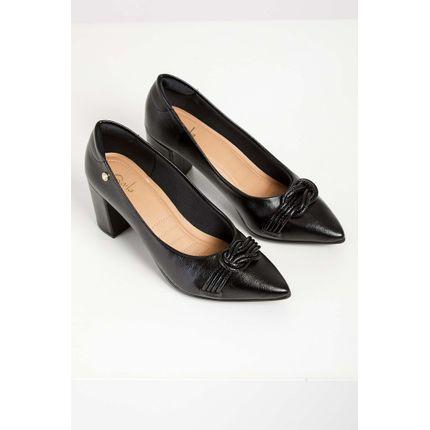 Sapato-Casual-Feminino-Gaila-Salto-Bloco-Preto