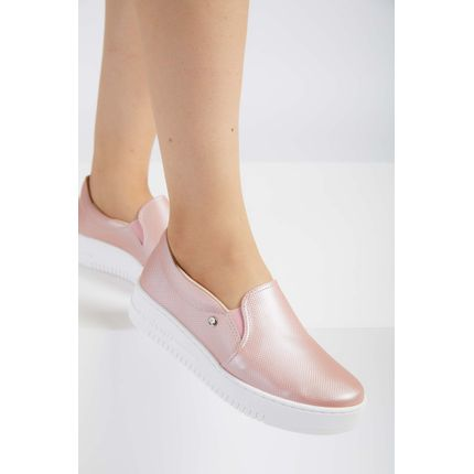 Tenis-Casual-Slip-On-Feminino-Via-Marte-18-18505-Rosa-Claro