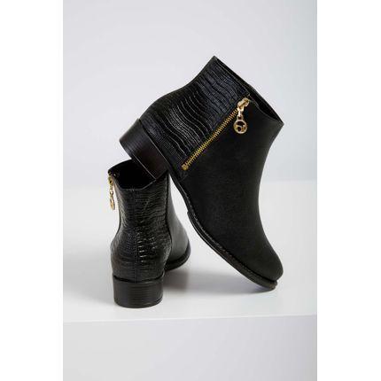 Bota-Ankle-Boots-Feminina-Beira-Rio-Napa-Preto