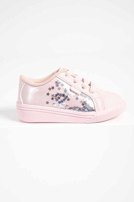 Tenis-Infantil-Menina-Klin-Baby-Moon-225-Rosa-Claro