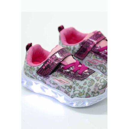 Tenis-Casual-Infantil-Menina-States-Light-521e-Led-Pink