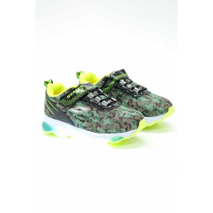 Tenis-Casual-Infantil-Menino-States-Light-500ba-Led-Verde