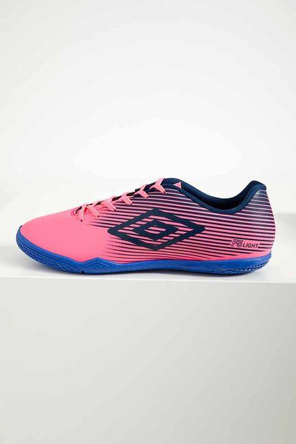 Tenis-Futsal-Masculino-Indoor-Umbro-F5-Light-Rosa