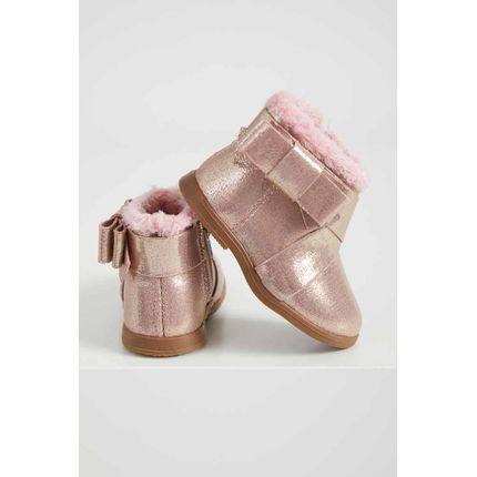 Bota-Casual-Infantil-Menina-Molekinha-Metalizada-Rosa