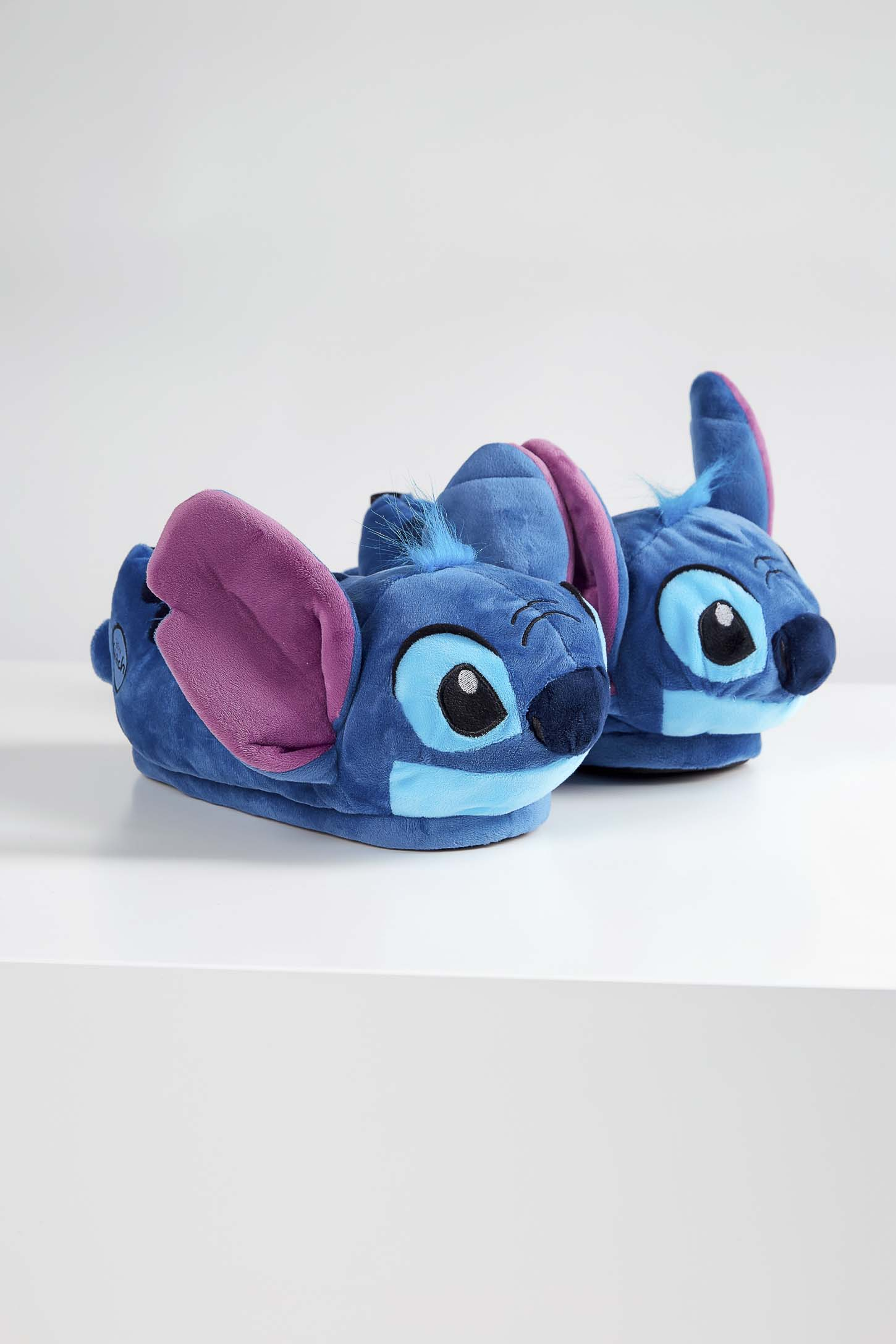 Pantufa-Ricsen-3D-Infantil-Stitch-Azul
