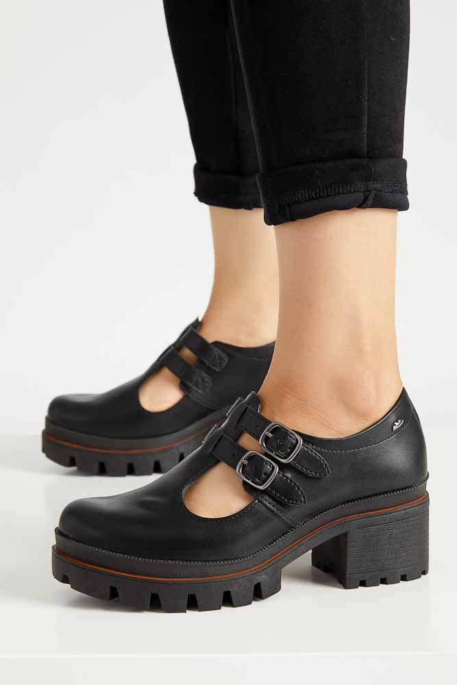 Sapato-Tratorado-Feminino-Dakota--G2671-08-Fivela-Preto