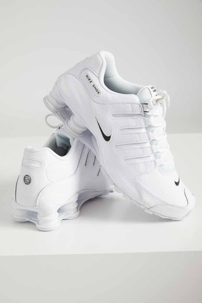 Tenis-Casual-Masculino-Nike-Shox-Branco
