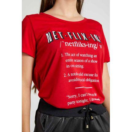 Blusa-Casual-Feminina-Amei-Netflix-Vermelho