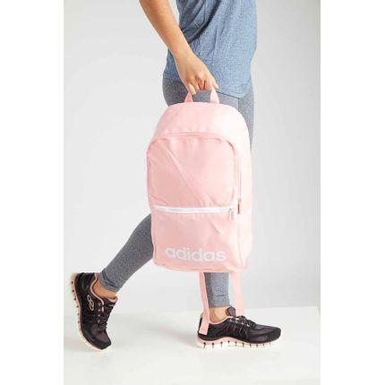 Mochila-Esportiva-Feminina-Adidas-Linear-Classic-Rosa