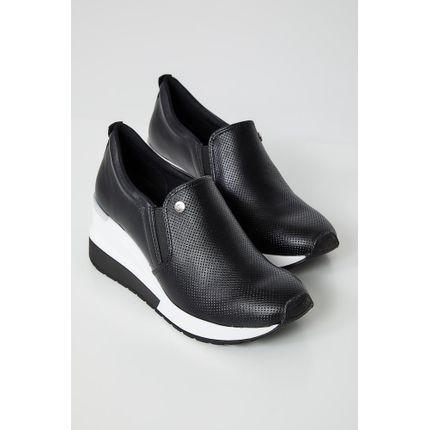 Tenis-Casual-Feminino-Dad-Sneaker-Via-Marte-20-1208-Preto