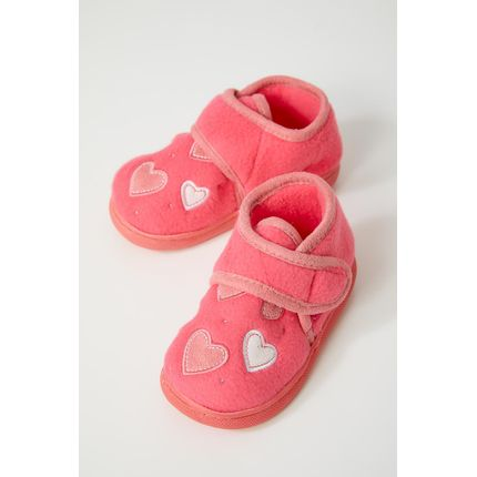 Pantufa-Conforto-Infantil-Menina-Liang-C7025-Rosa