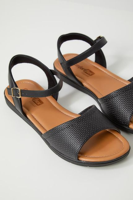 Sandalia-Feminina-Conforto-Comfortflex-19-79422-010-Preto
