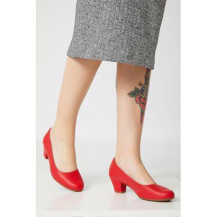 Sapato-Casual-Feminina-Piccadilly-Confort-110072-Vermelho