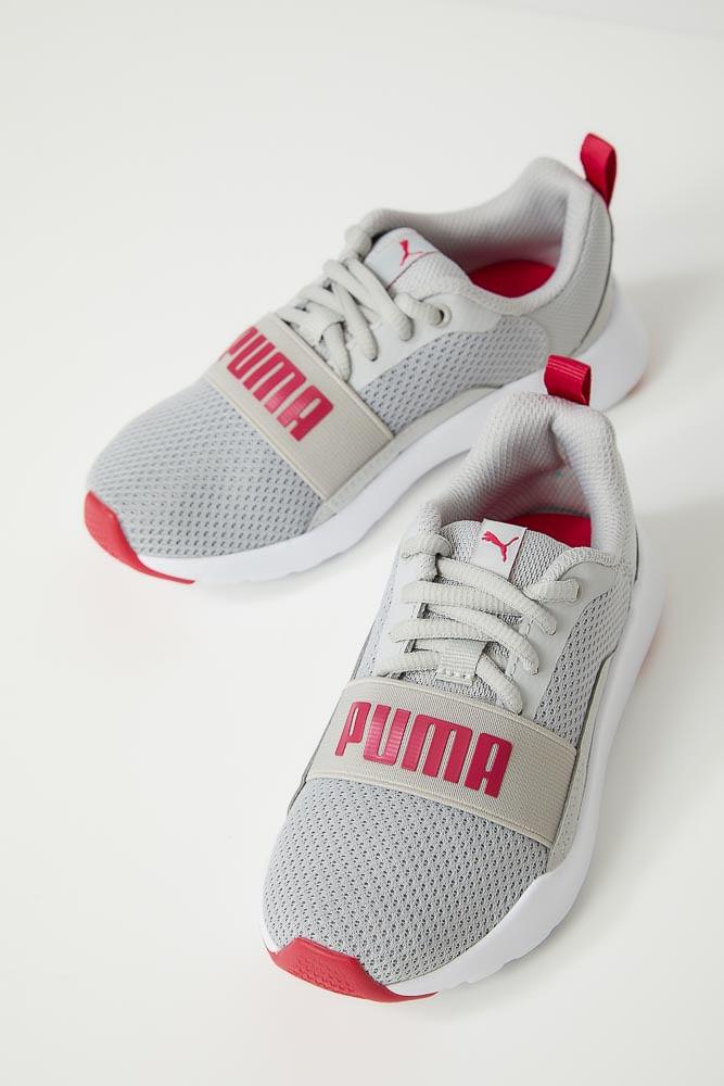 Tenis-Esportivo-Infantil-Unissex-Puma-Wired-Cinza
