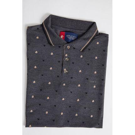 Camisa-Gola-Polo-Masculina-Applicato-Apt2741-Preto