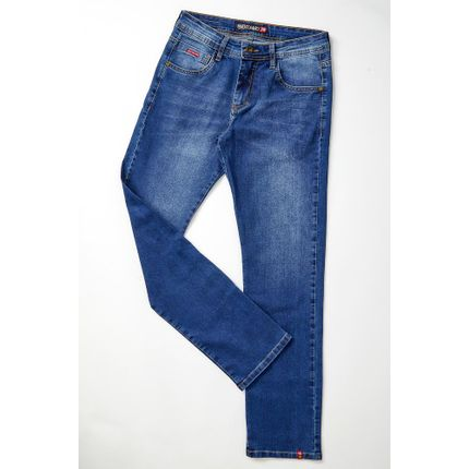Calca-Casual-Masculino-Oceano-Jeans-Slim-Azul