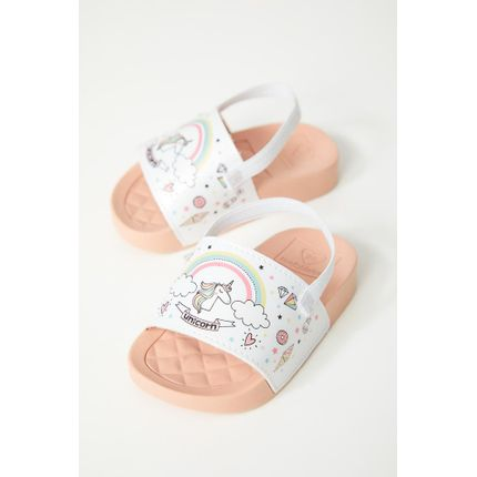 Chinelo-Slide-Infantil-Bebe-Menina-Molekinha-Unicornio-Branco
