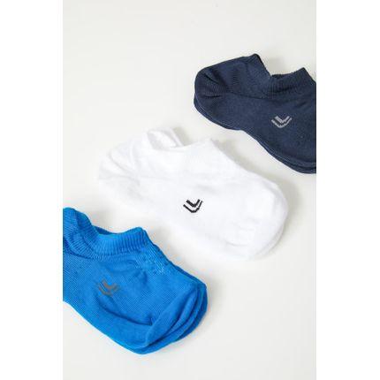 Meia-Casual-Infantil-Kit-3-Pares-Lupo-02270-089-Sortido