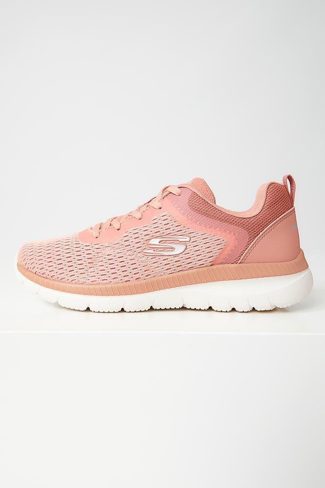 Tenis-Academia-Feminino-Skechers-Bountiful-Quick-Path-Rosa