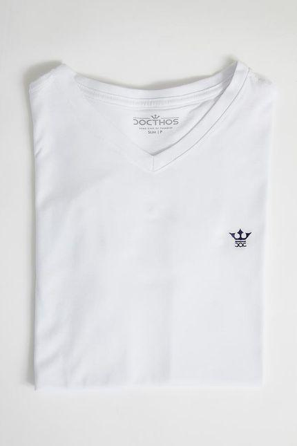 Camiseta-Casual-Masculina-Docthos-623-Branco