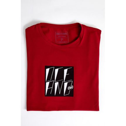 Camiseta-Casual-Masculina-Oceano-101370-Vermelho