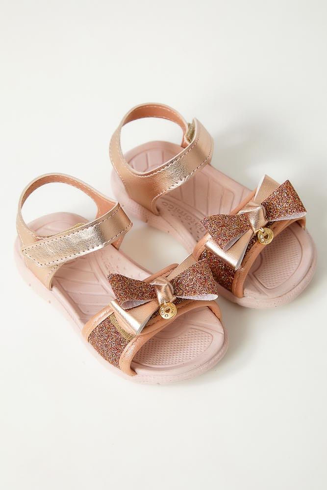 Sandalia-Papete-Infantil-Menina-Klin-1254-Glitter-Rosa