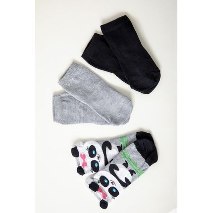 Meia-Kit-3-Pares-Infantil-Lupo-Panda-Sortido