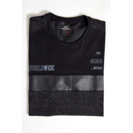 Camiseta-Casual-Masculina-Bgo-321165-Preto