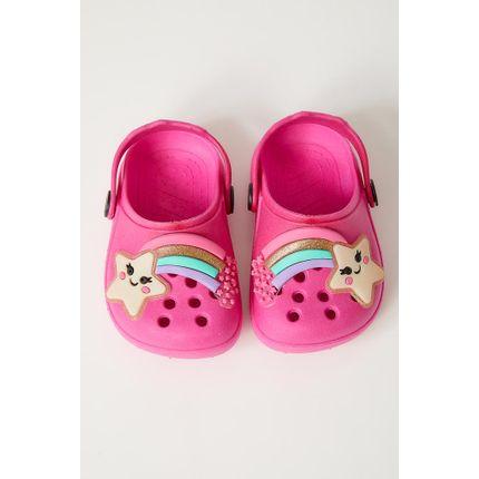 Sandalia-Babuche-Infantil-Luelua-18440-Arco-Iris-Pink