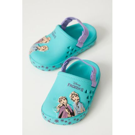 Sandalia-Babuche-Infantil-Grendene-22326-Frozen-Azul-Claro