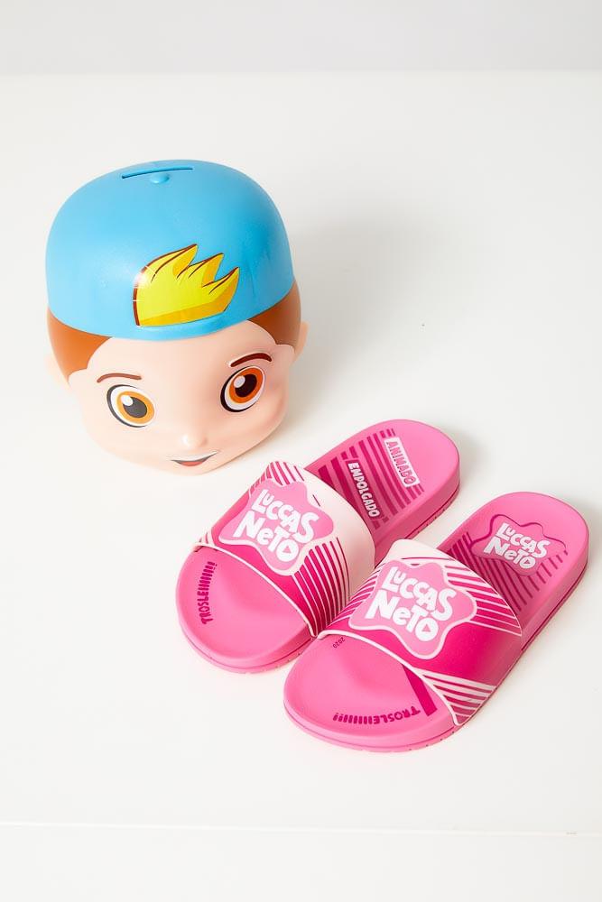 Chinelo-Slide-Infantil-Menina-Grendene-Luccas-Neto-Rosa