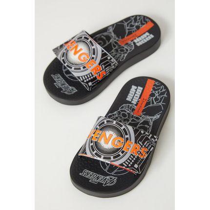 Chinelo-Slide-Juvenil-Ipanema-Preto