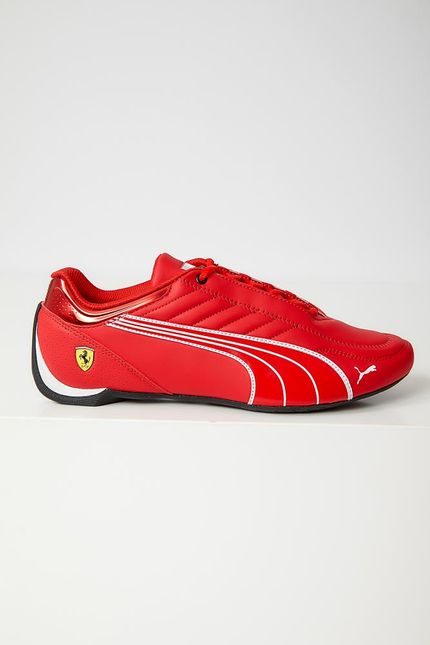 Tenis-Casual-Masculino-Puma-Ferrari-Future-Kart-Cat-Vermelho