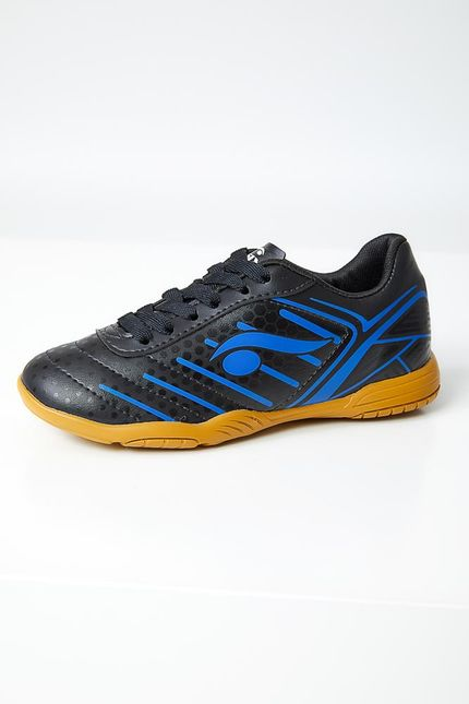 Chuteira-Futsal-Infantil-Menino-Inddor-Dray-6207-Preto
