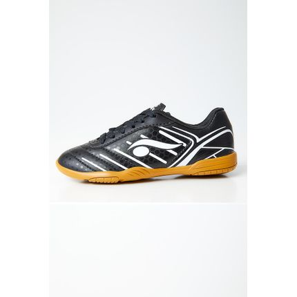 Chuteira-Futsal-Infantil-Menino-Indoor-Dray-6207-Preto