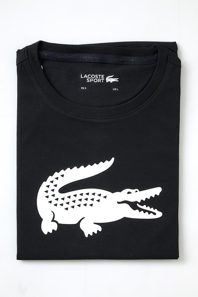Camiseta-Casual-Masculina-Lacoste-Th3377-Preto
