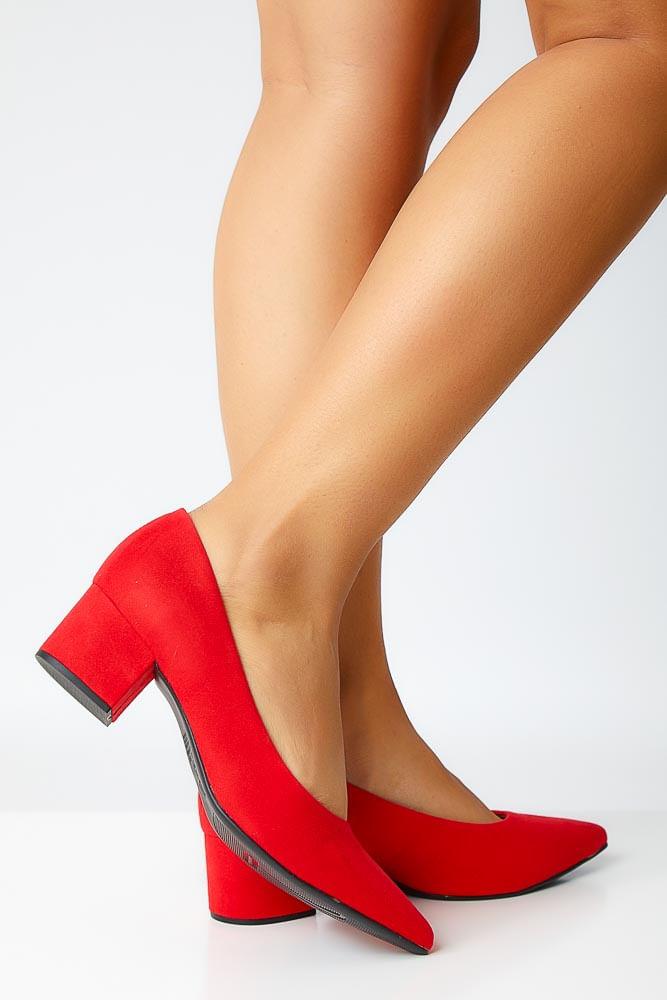 Sapato-Scarpin-Feminino-Vizzano-1220.100-Camurca-Vermelho