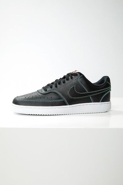 Tenis-Casual-Masculino-Nike-Court-Vision-Low-Preto-
