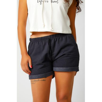 Shorts-Casual-Feminino-Lexco-63-Preto