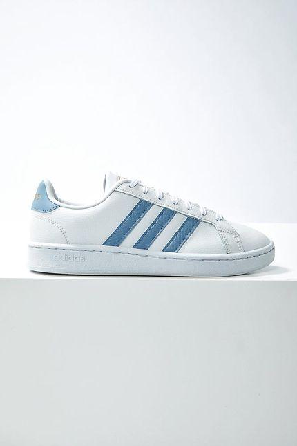 Tenis-Casual-Unissex-Adidas-Grand-Court-Branco
