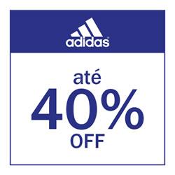 Adidas até 40% OFF