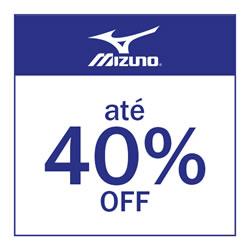 Mizuno até 40% OFF