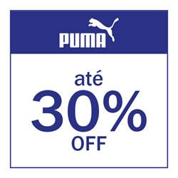 Puma até 30% OFF